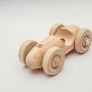 dřevěná závodnička