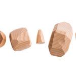 balanční kameny - dřevěné hračky